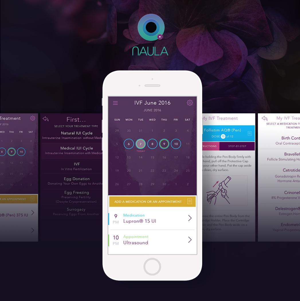 Naula: A New Fertility Treatment Tracker App